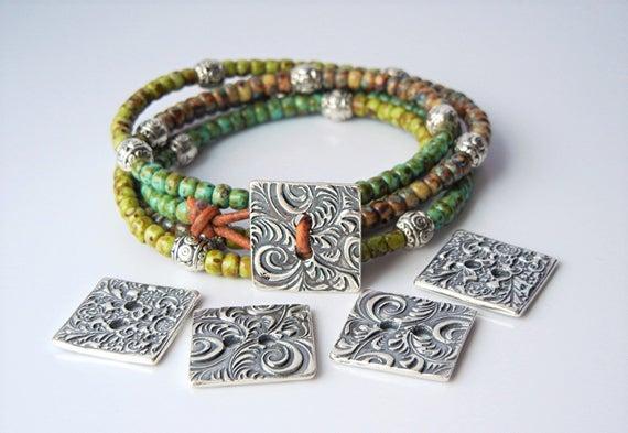ONE REVERSIBLE Handmade Jewelry Clasp BH3s Unique Handmade | Et