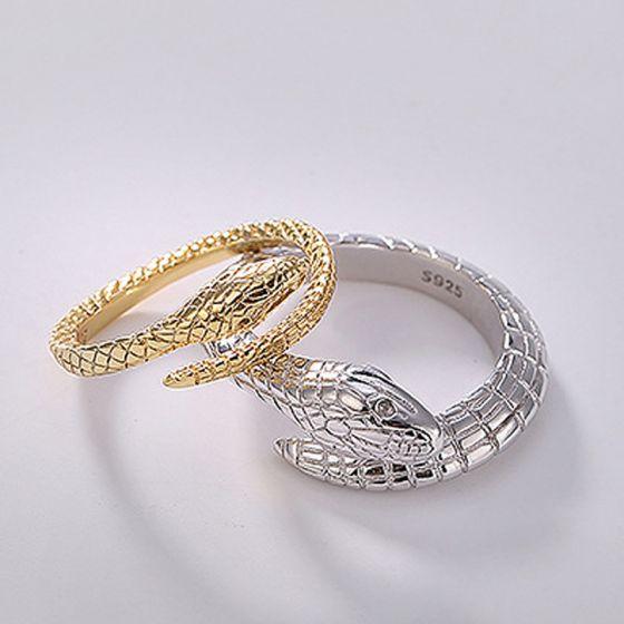 Silver Handmade Snake Couple Rings Sterling Silver Dating .