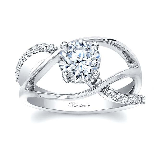 Barkev's Unique Diamond Engagement Ring 8040L | Barkev