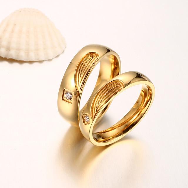 Desain Pernikahan: Unique Gold Engagement Ring Designs For Coup