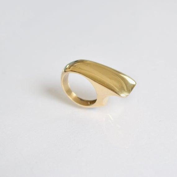Statement Ring Ring For Women 14k Gold Ring Design Unique   Et