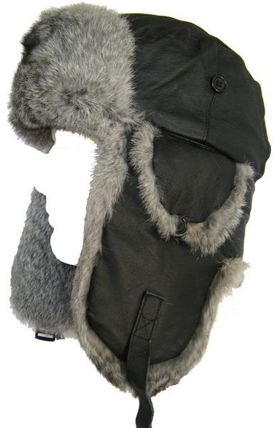 Klondike Sterling Leather Aviator Ushanka Hat – headchange.c