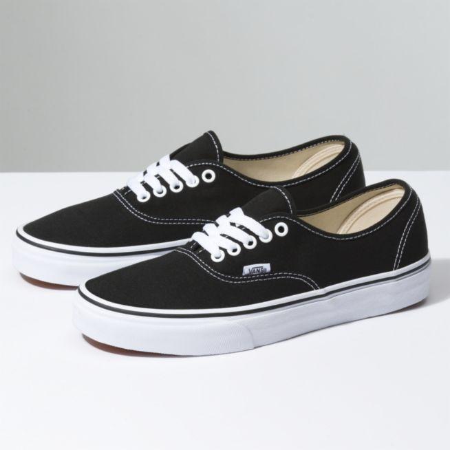 Vans Authentic Shoes - Black - Size 10.5 - Sams B