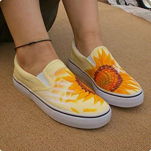 Amazon.com: Sunflower Vans Shoes for Women Vans Sunflower Shoes .