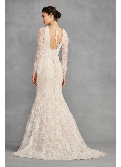 White by Vera Wang Bell Sleeve Lace Wedding Dress   Wedding .
