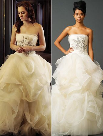 Gossip Girl Fashion: Blair's Vera Wang Wedding Gown Fitting and .