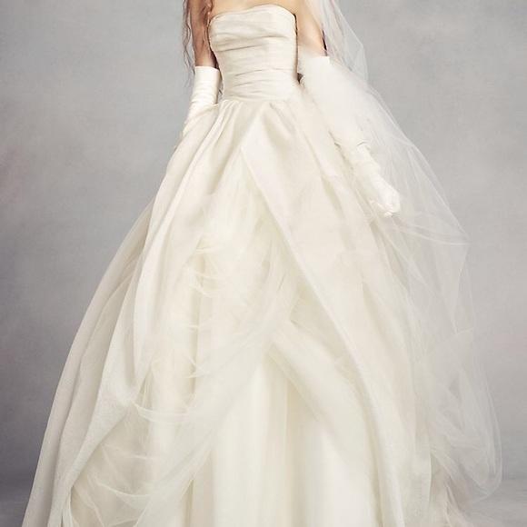 White by Vera Wang Dresses | Vera Wang Wedding Dress Belt Ball .
