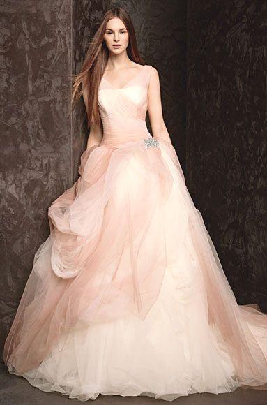 UBetts Rental & Design | Vera Wang Blush Wedding Dress | Wedding .