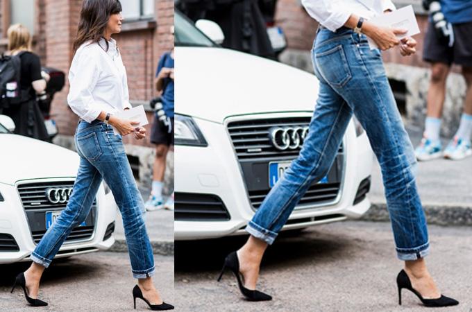 Victoria Beckham Slim Leg Jeans | Covet New Yo