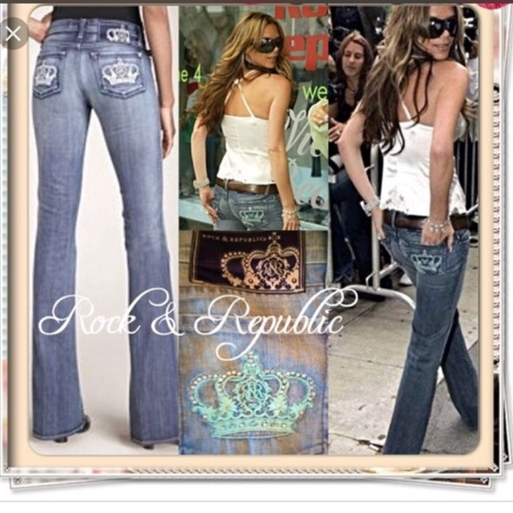 Victoria Beckham Jeans | Rock Republic Crown Sz 30 | Poshma