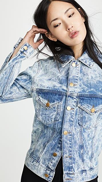 Victoria Victoria Beckham Classic Denim Jacket | SHOPB