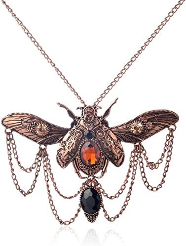 Amazon.com: WeiVan Vintage Egyptian Style Scarab Beetle Steampunk .