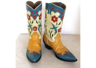 Vintage Cowboy Boots - Marshmallow Ran