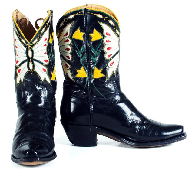Vintage Cowboy Boots - Cowboy Boo