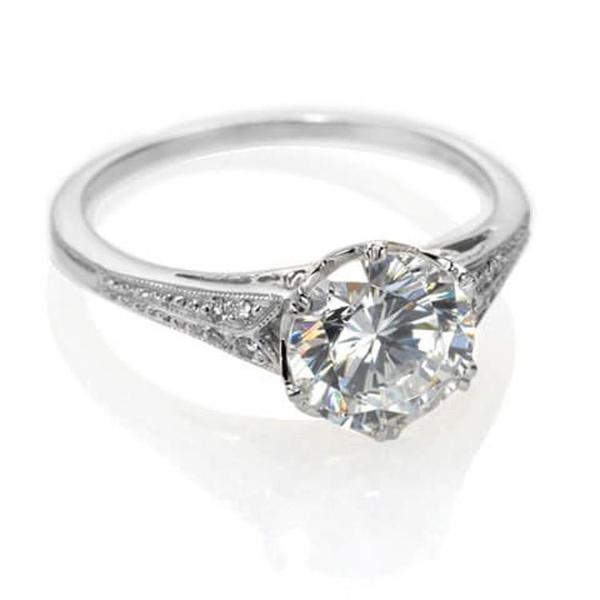 Vintage Engagement Ring NYC | Antique Inspired Design – Catherine .
