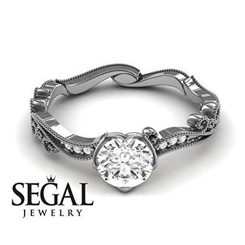 Amazon.com: Vintage Engagement Ring - Antique Ring Victorian .