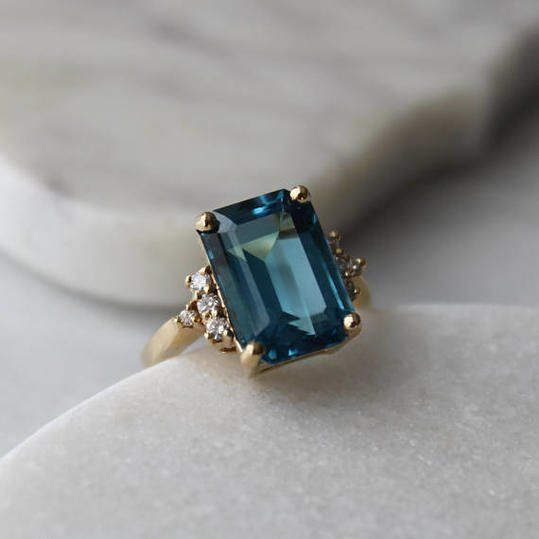 The Best Vintage Engagement Rings on Etsy | Fashion rings, Wedding .