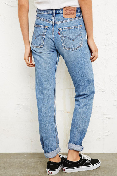 Plain Jane Vintage Jeans — Lady Of Influen