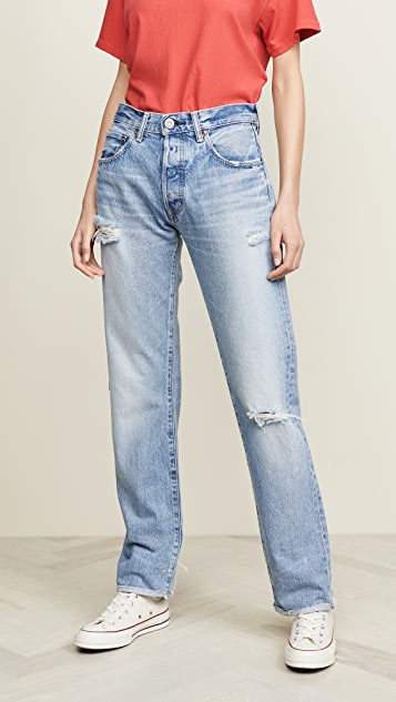 MOUSSY VINTAGE MV Steele Straight Jeans | SHOPB