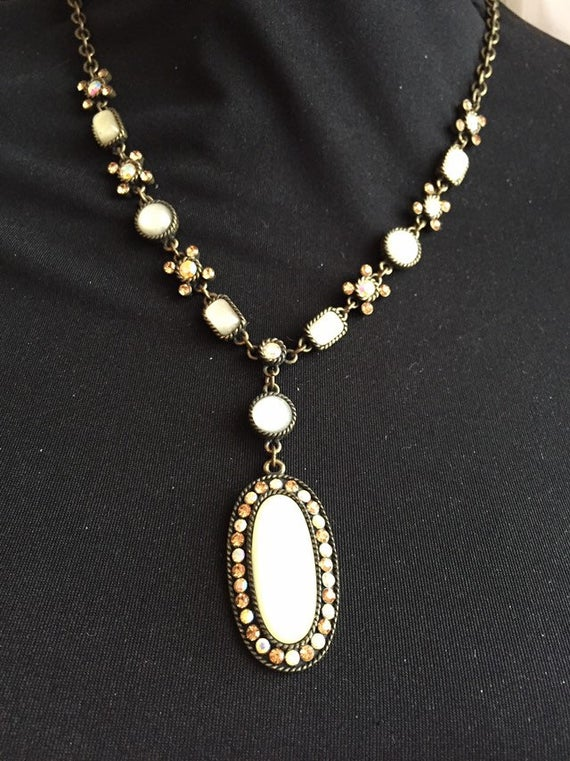 Vintage jewelry vintage necklaces vintage estate jewelry | Et