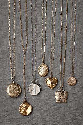 Vintage necklaces.