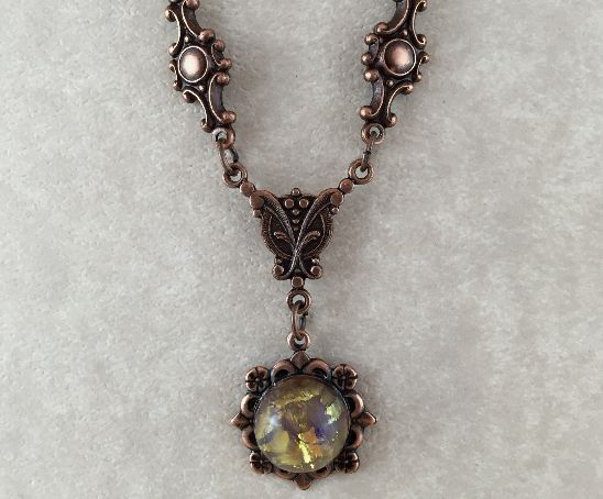 Copper Vintage Necklaces · Handcrafted Jewelry · The Vintage Pu