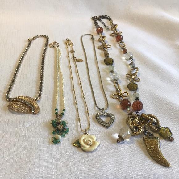 Jewelry | Lot Of 5 Vintage Necklaces | Poshma