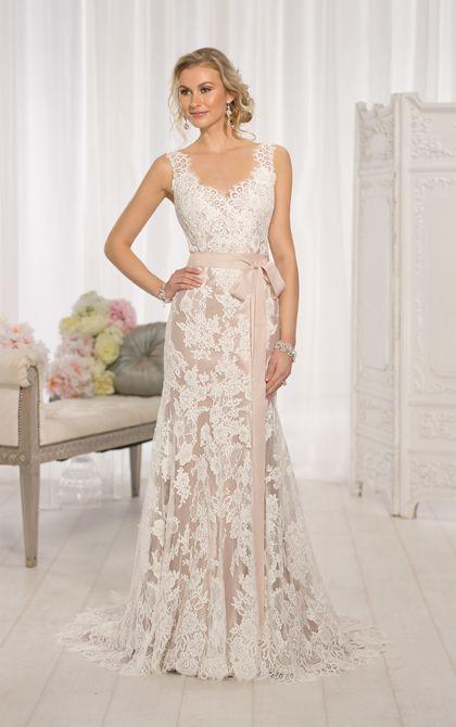 Modern Vintage Wedding Dress by   Lace weddings, Essense of .