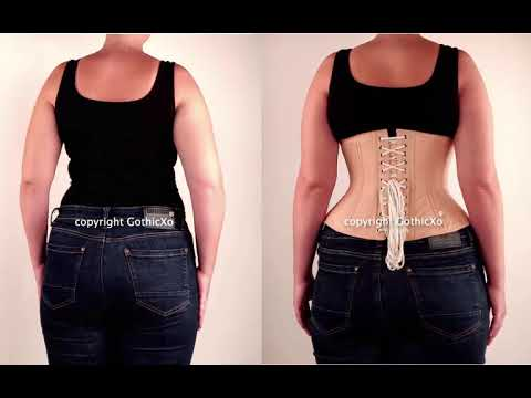 Waist Train Before and After . Waist Trainers from Corsetdeal .