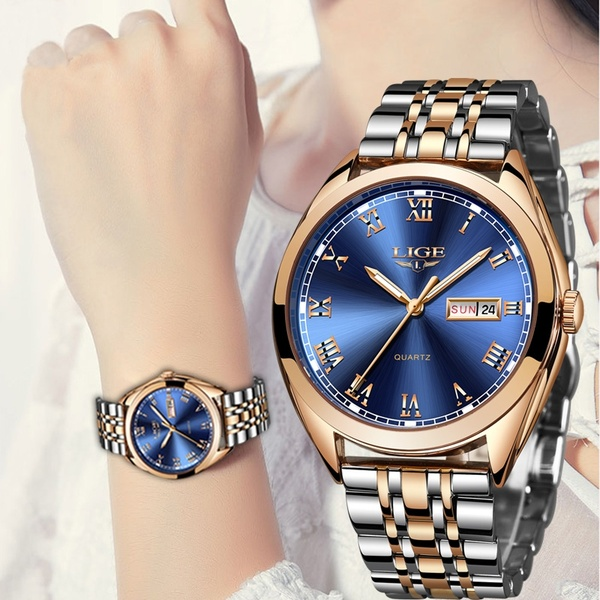 LIGE Watch Women Fashion Sport Quartz Clock Womens Watches Brand .