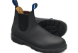 Black Premium Waterproof Leather Chelsea Boots, Men's Style 566 .