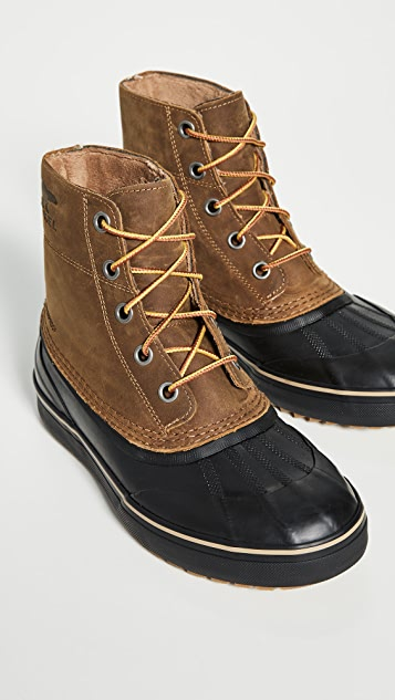 Sorel Cheyanne Metro Lace Up Waterproof Boots | EAST DA