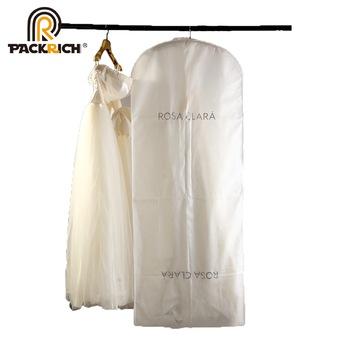 Custom Printed Wedding Dress Cover Garment Suit Bag - Buy Wedding .