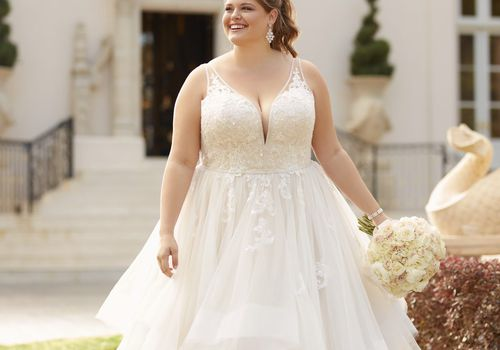 11 Best Wedding Dress Styles for Plus Siz