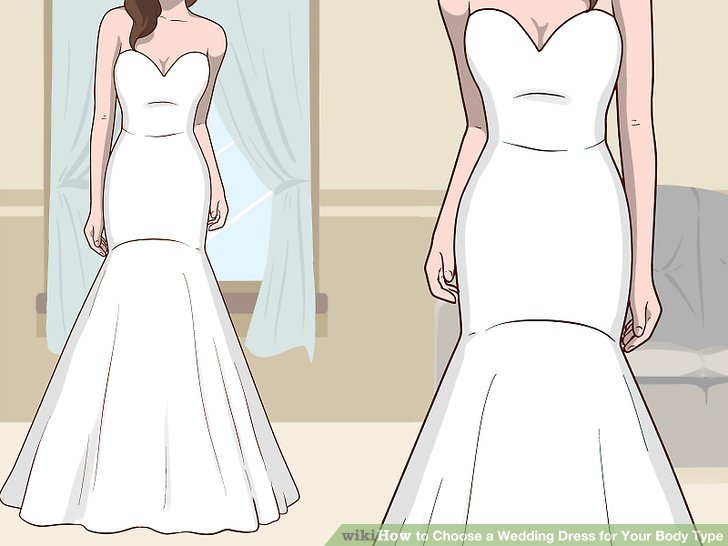 3 Ways to Choose a Wedding Dress for Your Body Type - wikiH