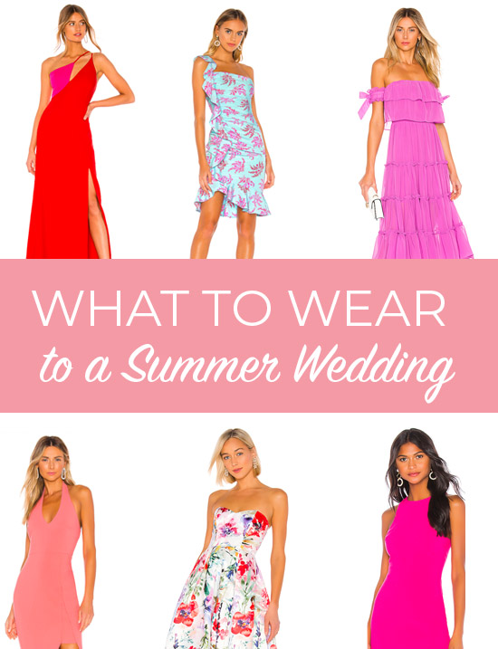What to Wear to A Summer Wedding This Summer - The Best Dressed .