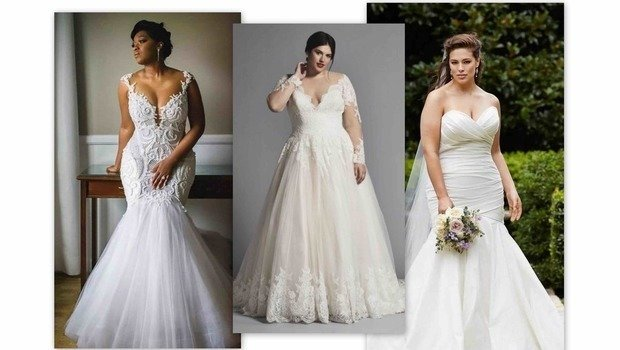 These Are the Perfect Wedding Dresses for Curvy Brides Looking f