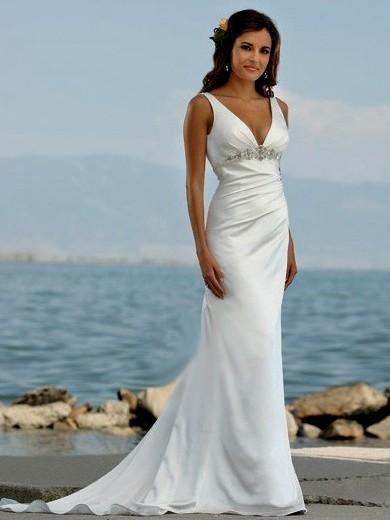 Cheap beach wedding dresses canada - Wedding Port