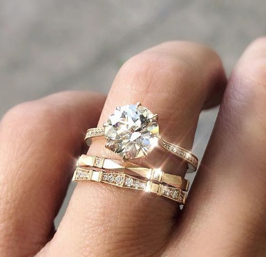 In The Press - 33 Excellent Wedding Ring Sets For Beautiful Women .