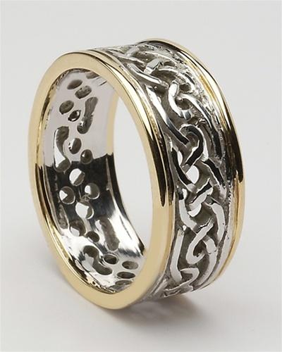 Mens Celtic Filigree Wedding Rings MG-WED
