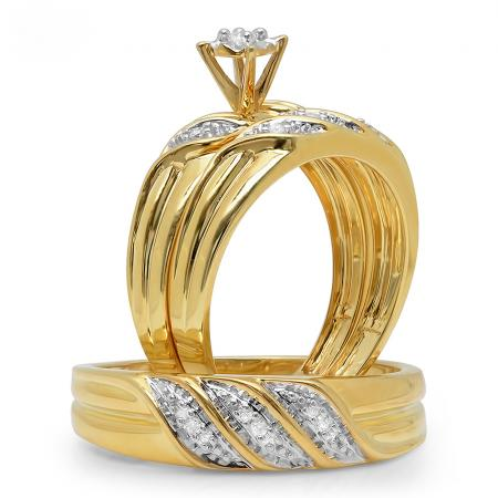 Choosing Affordable Wedding Rings Sets for Men and Wom