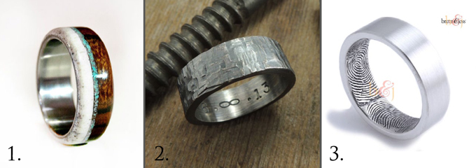 Unique Wedding Rings For Men - American Wedding Wisd