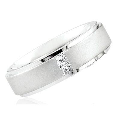 26ct Princess Cut Diamond Wedding Ring for Men & Women | Diamond .