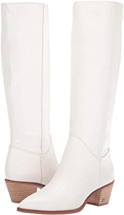 Women's Sam Edelman White Boots + FREE SHIPPING | Shoes | Zappos.c