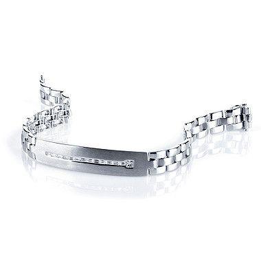 Diamond Bracelet for Men, in 18kt White Gold | Bracelets for men .
