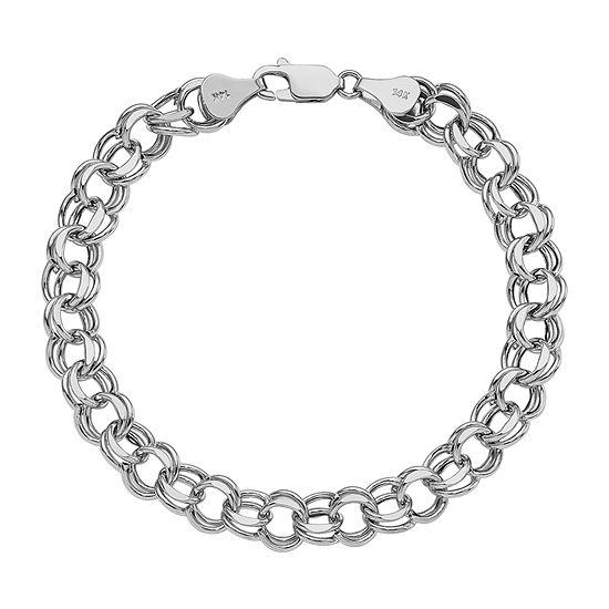 14K White Gold Charm Bracelet - JCPenn