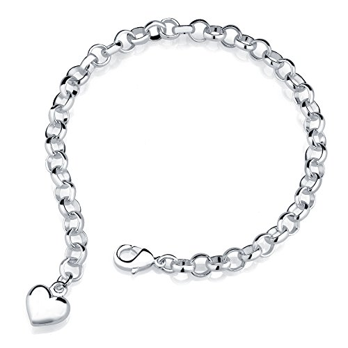 Get the best of both worlds with white gold charm bracelet .