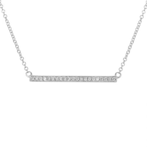 Arthurs Collection White Gold Diamond Necklaces. Designer .