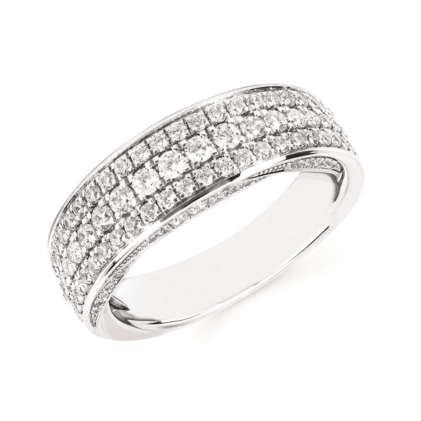 14k White Gold Ring OF19A30-4WC | Wrap Rings from Arthur's Jewelry .