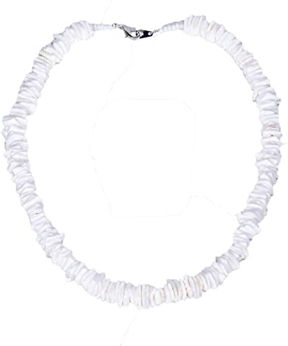 Amazon.com: BlueRica Puka Chip Shell Beads Necklace (14 Inches .